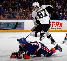 Crosby doing his magic