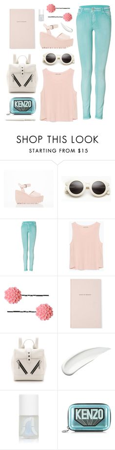 """""""Escape"""" by sourpants ❤ liked on Polyvore featuring Opening Ceremony, Faith Connexion, Zara, Dollydagger, Kate Spade, Kenzo, Koh Gen Do, Uslu Airlines and Paul & Joe"""