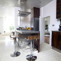 Steel and Wood in the Kitchen