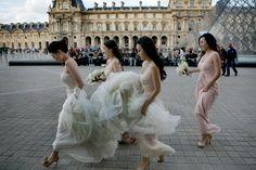Photography: Ethan Yang Photography - ethanyangphotography.com  Read More: http://www.stylemepretty.com/destination-weddings/2014/07/29/romantic-paris-wedding-at-four-seasons-george-v/