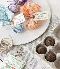 {DIY Wedding Favors} Seed Bombs – DIY Weddings