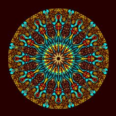 Ola !!!! Mandala de Pierre Vermersch Digital Drawings