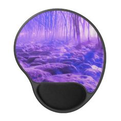 Clearing in the Forest Gel Mouse Pad