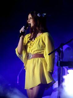 Lana performing at 'Outside Lands Festival', San Francisco, California