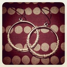 Only $10 with coupon code HAPPYFEB for free shipping. Surgical steel hooks for sensitive ears ;)