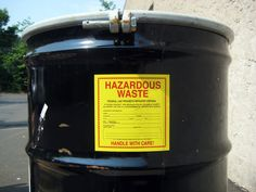 HAZARDOUS WASTE AND DRUM LABELS from LEM Products, Inc. are made of  pressure sensitive flexible vinyl that conforms well to smooth surfaces.  Withstands exposure to water and oil.  Used to identify hazardous material, transformers, capacitors, ballasts and other equipment associated with hazardous chemicals.  Custom PCB and hazardous material markers can be manufactured to meet your requirements.  Company name and phone number can be added to stock markers as well as additional information.