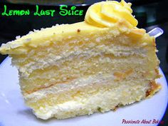 Passionate About Baking: Lemon Lust Cake