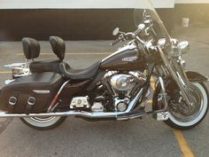 05 road king classic. That's my baby