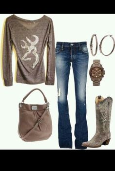 Country outfit, I reallllllly wanna try this look