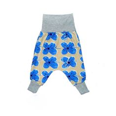 Baby harem pants. 2 sizes available. Limited quantities of limited edition prints.