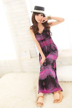 Enthusiastic Purple Boho Style Long Dresses Girls  Item Code:#QQ38067+Purple  Price: US$13.20  Shipping Weight: 0.46KG