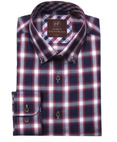 JTW6636-Red from James Tattersall Clothing