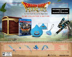 Dragon Quest Heroes Collector's Edition is a Treasure Chest Full of Slime