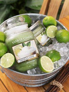 Vanilla Lime.  Hebká a osvěžující vůně smetanově bohaté vanilky, třtinového cukru a limetky spolehlivě uvolní vaše smysly.