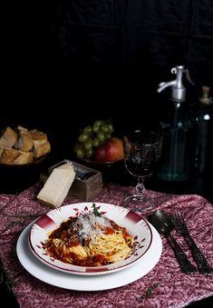 Espaguettis con berenjena - La Cocina de Frabisa La Cocina de Frabisa