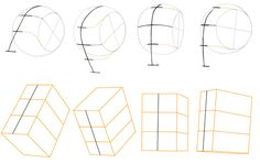How to Draw the Head from any angle by Fine Art Painter Stanislav Prokopenko. See the full tutorial here: http://www.stanprokopenko.com/blog/2009/05/draw-head-any-angle/