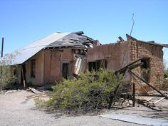 Old boarding house/brothel at Vulture City, Arizona 2007 Fountain Hills, Cave Creek, Maricopa County, Boarding House, Blacksmith Shop, High Hopes, Phoenix Arizona, Vulture, Ghost Towns