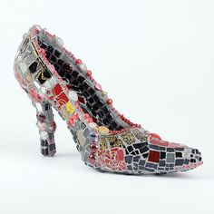 Image result for mosaic shoe