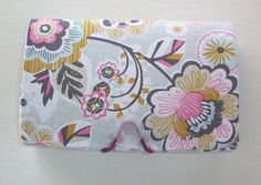 Coupon Organizer / holder /  keeper   Deco Park in Grey by Laa766 Coupon clipping / fabric / patterned / holders / budget / inserts / grocery / receipt files / folder / gifts