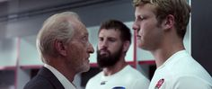 Exclusive video: Charles Dance reveals the secrets of giving an impassioned team talk to a packed dressing room in this behind-the-scenes look at the official 2015 Rugby World Cup advert Dylan Hartley, 2015 Rugby World Cup, Game Of Thrones, Sports Advertising, Charles Dance, Hand Of The King, Sport Inspiration, Pep Talks, World Of Sports