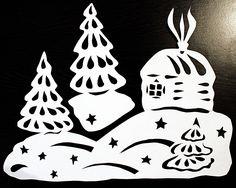 киригами шаблоны скачать бесплатно на новый год: 12 тыс изображений найдено в Яндекс.Картинках