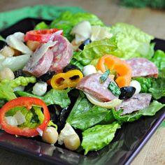 Chopped Italian Deli Salad