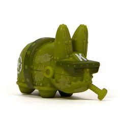 Lore of the Labbit Mini Series : Mecha Green by Frank Kozik