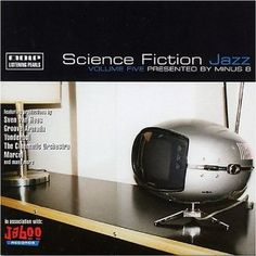 Retrofuture at its finest. Retro Table, Toy Kitchen, Retro Futurism, Wood Colors, Album Covers, Inventions, Science Fiction, All About Time, Jazz