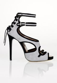 Tabitha Simmons Bailee Lace Up Sandals...LOVE these. They're the ones Jennifer Aniston was wearing in the shoe shopping scene in Just Go With It.