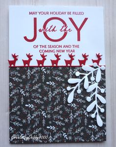 Christmas Floral Debby Yates Simon Says Stamp Christmas Gift Tags, Christmas Deco, Christmas 2017, Christmas Themes, Xmas, Tiddly Inks, December 25, Simon Says, Natal
