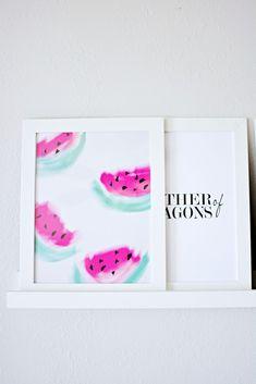 Watermelon Print Printable