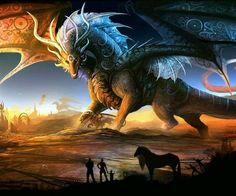 Ancient celestial dragon