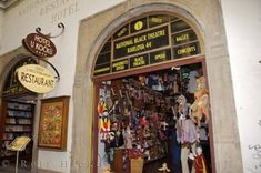 Czech Traditional Marionettes shop in Old Town Prague