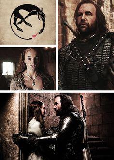 Sandor & Sansa - Sandor and Sansa Fan Art (31589436) - Fanpop