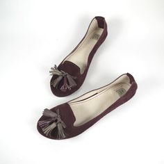 The Loafers Shoes in Burgundy Suede - Handmade Leather Shoes by elehandmade on Etsy https://www.etsy.com/listing/109734818/the-loafers-shoes-in-burgundy-suede