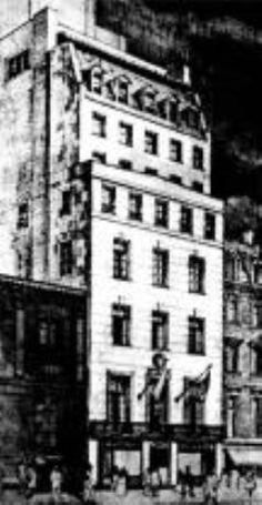 Our current quarters, since 3 West Street. Just between Radio City Music Hall and St. Radio City Music Hall, Rhythm And Blues, Cathedral, Clubhouses, Past, Photo Wall, Nyc, America, Lambs