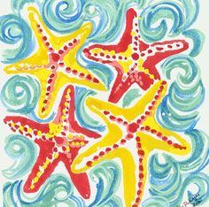 Star gazing every day, Lilly Pulitzer Lilly Pulitzer Prints, Lily Pulitzer, Paint And Sip, Silk Painting, Fun Prints, Pattern Design, Print Design, Art Projects, Print Patterns