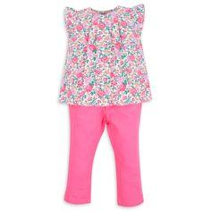 Blusa EPK para bebé niña con estampado floral.