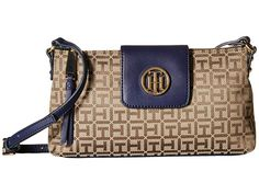 Tommy Hilfiger Veronica - Monogram Jacquard East West Crossbody at 6pm.com