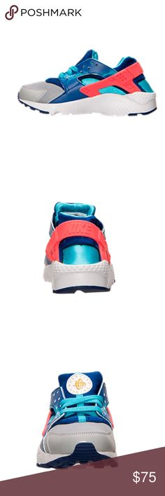 Nike Huarache Run Print Running Shoes These shoes are 100% real reason me having to find a picture off line is because im in a different state, but i only wore them 3x and they were too tight. These shoes run small and their in Boys' Grade School. Nike Shoes Athletic Shoes