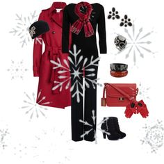 """""""Let It Snow!"""" by parmelia ❤ liked on Polyvore"""