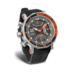 Vostok-Europe For Captains of Adventure Lunokhod 2 Chronograph Multi-Function Diver // TM3603/6205207