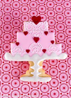 Cakes Haute Couture - El Blog de Patricia Arribálzaga: Galletas de San Valentín