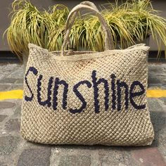 Jute Bags from The Jacksons 5 All Saints Road, Notting Hill W11 1HA