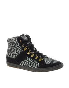 ASOS DOWNTOWN Hiker High Top sneakers