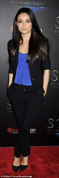 Mila Kunis and Kristen Bell appear at star-studded Cinemacon event