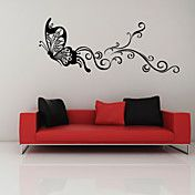 Dancing Butterfly Wall Sticker – USD $ 29.99
