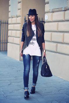 #fashion #fashionista @Irene Colzi jeans skinny
