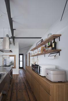 オープンのステンレスキッチン|HouseNote(ハウスノート)