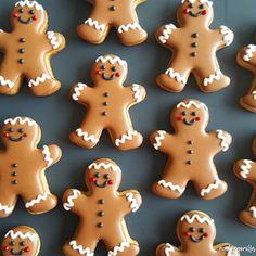 cukorgorilla: Christmas cookies . Gingerbread men